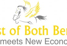 Best of Both Logo Old meets new Economy