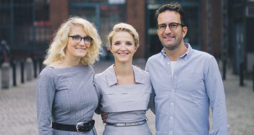 Antonia Sutter Theresa Neubauer Alexander Steinhart Gründerteam SisterMag Magazin Frauen Damen Journal Startup Start-Up Gründerszene Berlin Thea Toni
