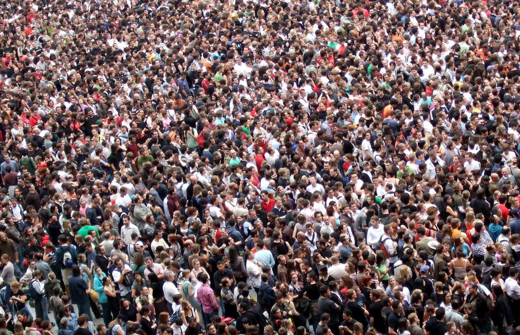 Crowd (Foto: James Cridland/Flickr; CC BY 2.0)