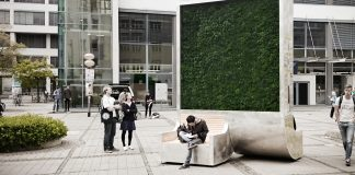 Reinigt die Luft: der City Tree von Green City Solutions (Foto: Green City Solutions)