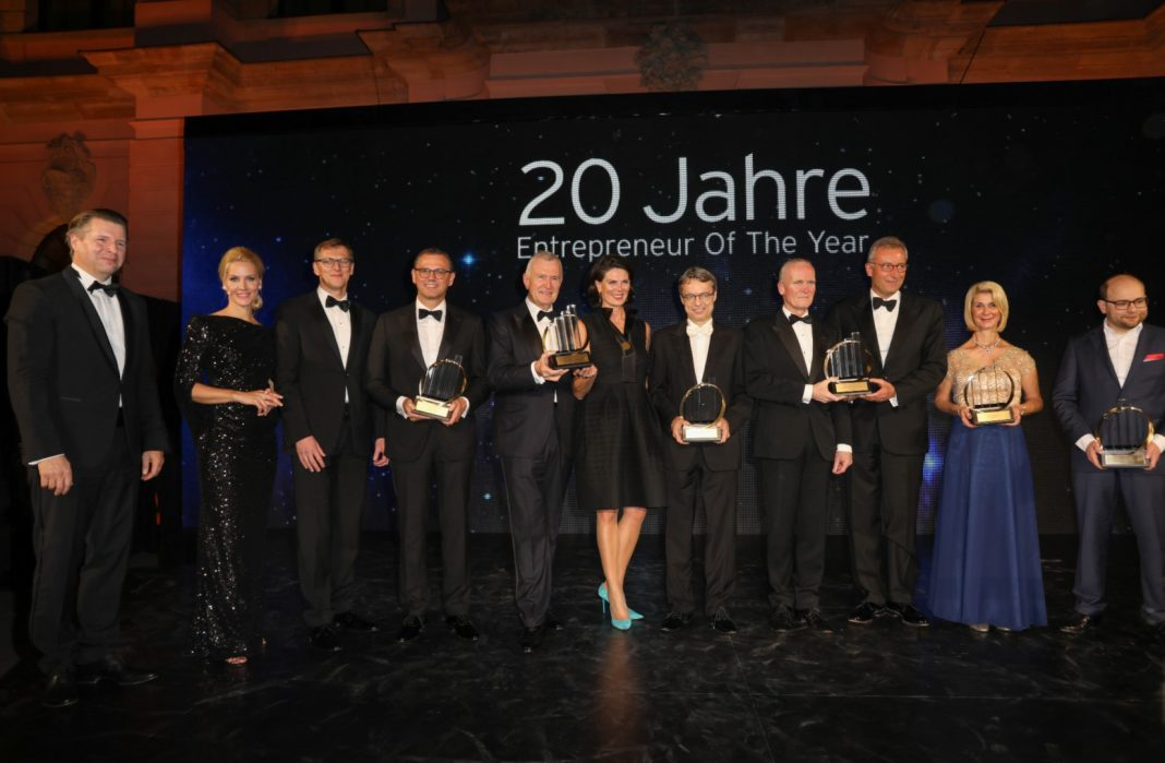 Siegerfoto: EY Entrepreneur of the Year 2016 (Foto: EY)