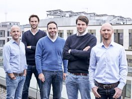 Das Management-Team von Project A: Ben Fischer, Uwe Horstmann, Florian Heinemann, Anton Waitz und Thies Sander. (Foto: Project A Ventures)