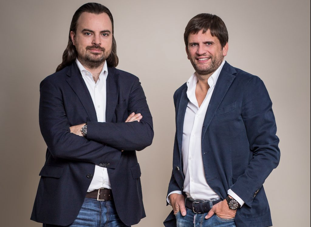 German Startups Group: Chief Investment Officer Nikolas Samios und CEO Christoph Gerlinger Foto: German Startups Group)