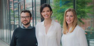 Team G+J Digital Ventures: David Wevers, Beate Koch und Julia Köster (Foto: G+J Digital Ventures)