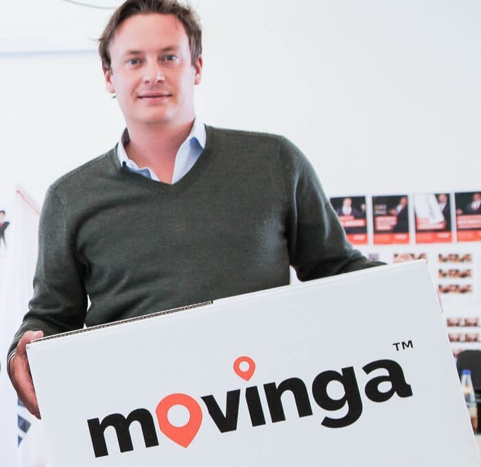 Movinga-CEO Finn Hänsel. Foto: Movinga