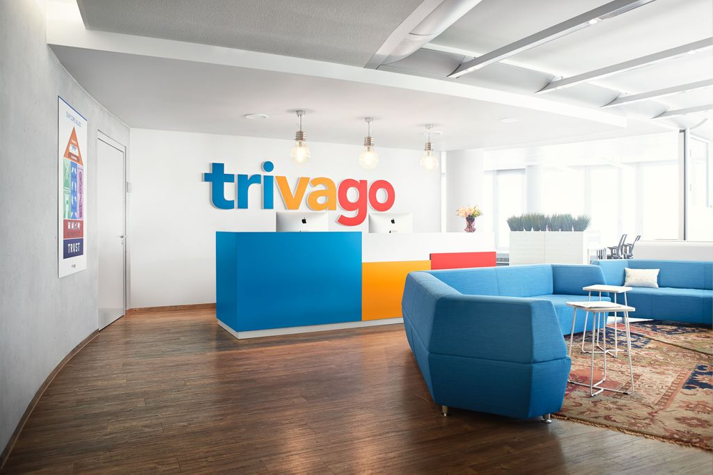 Trivago Offices: Reception