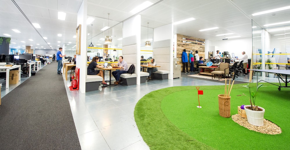 Das Coworking Space Runway East in London, Foto: Runwayea.st