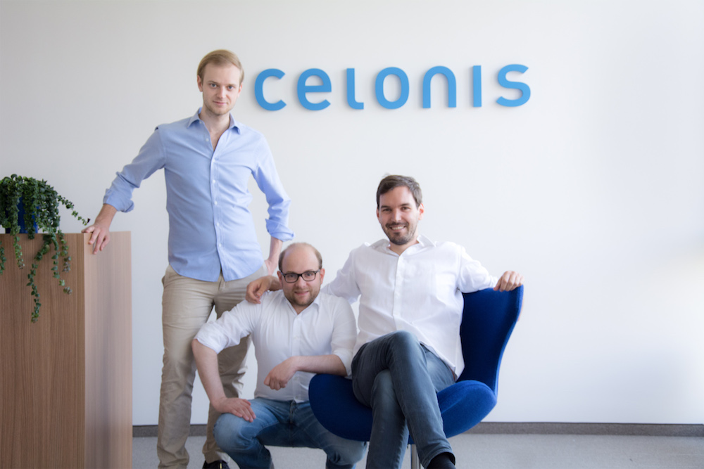 Co-Founder und Co-CEO: Alex Rinke, Bastian Nominacher und Martin Klenk (v. r.). Foto: Celonis