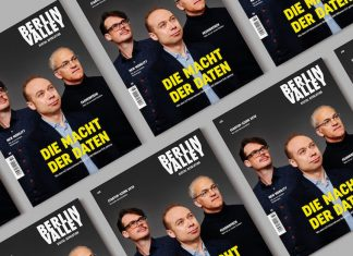 Berlin Valley 32. Coverfoto: Patrick Debrosses