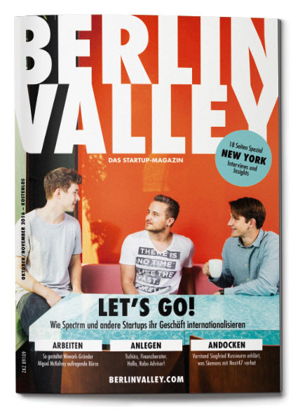 BerlinValleyNews Cover Oktober 20160927 - Startup-Magazin zum kostenlosen Download
